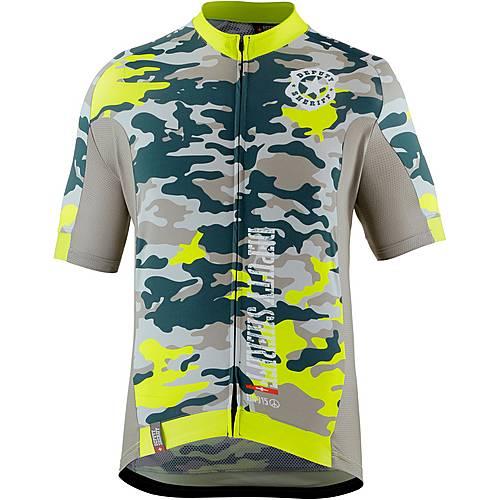 Deputy Sheriff Streetfighter Fahrradtrikot Herren gelb-camouflage