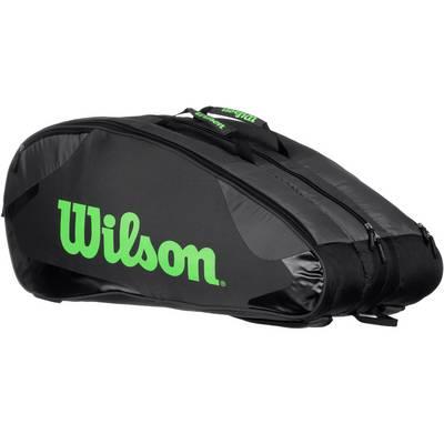 Wilson Burn Team 12PK Bag Tennistasche green/lime
