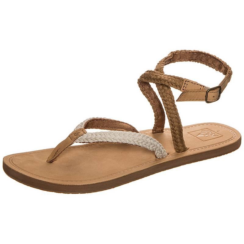 4b5be04537a0 reef sandalen damen Reef Gypsy Wrap Sandalen Damen beige   braun im Online  Shop von .