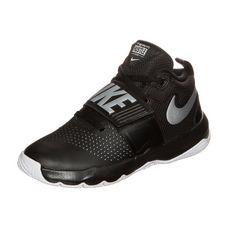 Nike Team Hustle D 8 Basketballschuhe Kinder schwarz / weiß