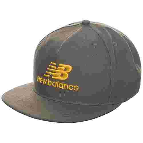 NEW BALANCE 3D Logo Cap grau / gold