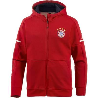 adidas FC Bayern Hoodie Herren FCB TRUE RED