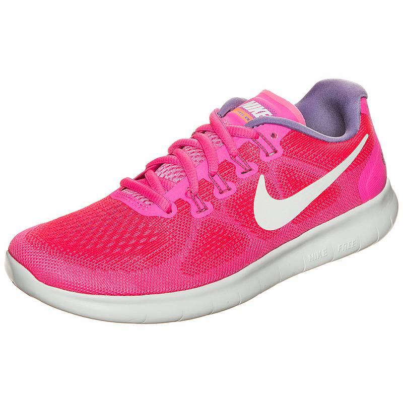 new style 37d5f d4deb Nike Free RN 2017 Laufschuhe Damen pink  weiß