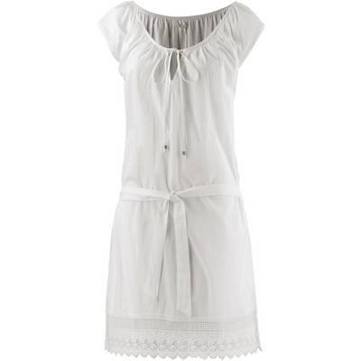 ESPRIT Serrano Beach Minikleid Damen weiß