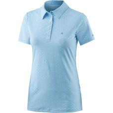 Schöffel Altenberg Poloshirt Damen hellblau