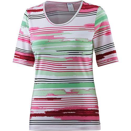Joy Alessa Funktionsshirt Damen weiß/pink/grün