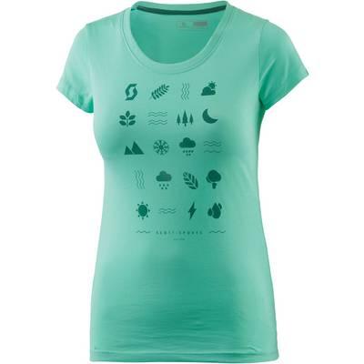 SCOTT  CASUAL 40 T-Shirt Damen grün
