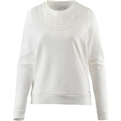 TOM TAILOR Sweatshirt Damen offwhite