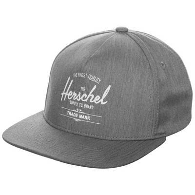 Herschel Whaler Cap grau / weiß