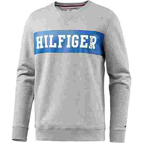Tommy Hilfiger Sweatshirt Herren hellgrau melange/royal