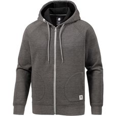 Element MERIDIAN BONDED Fleecehoodie Herren CHARCOAL HEATHE