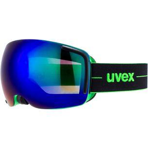 Uvex Big 40 FM Skibrille black-green mat