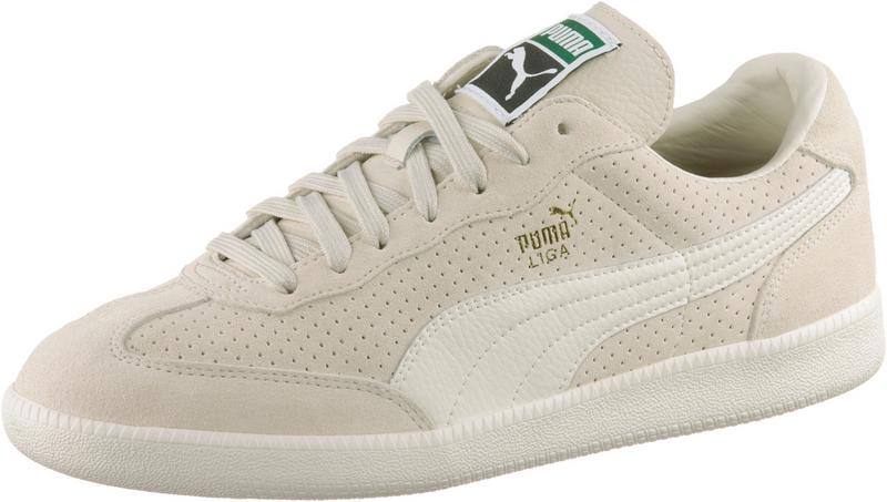 Liga Suede Perf birch-whisper/white-puma team gold Puma