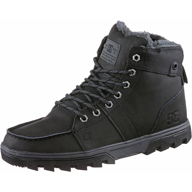 the best attitude 4bc5d 759b9 DCWOODLAND BootsHerren BLACK BLACK GREY