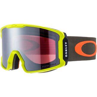 Oakley LINE MINER Skibrille obsessive lines laser-prizm snow black iridium