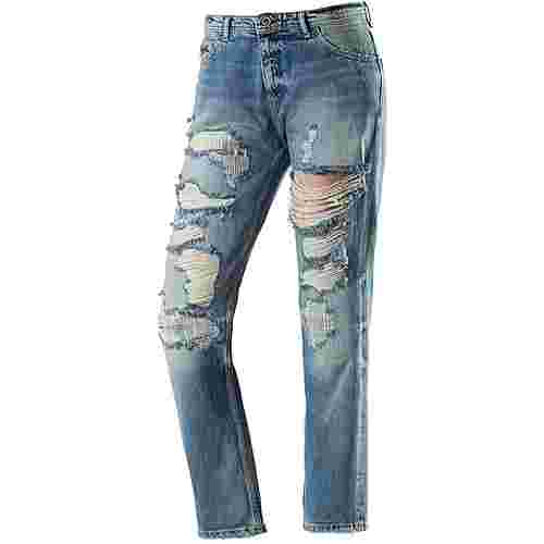 Tommy Hilfiger Lana Straight Fit Jeans Damen destroyed denim
