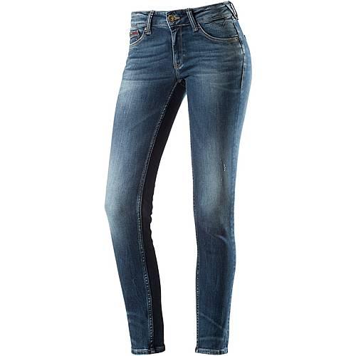 Tommy Hilfiger Sophie Skinny Fit Jeans Damen blue denim