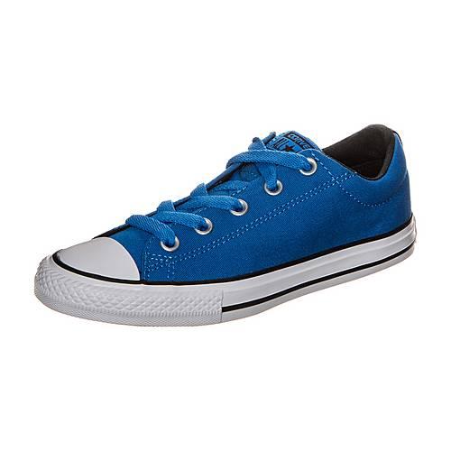 CONVERSE Chuck Taylor All Star Street Slip Sneaker Kinder blau / weiß