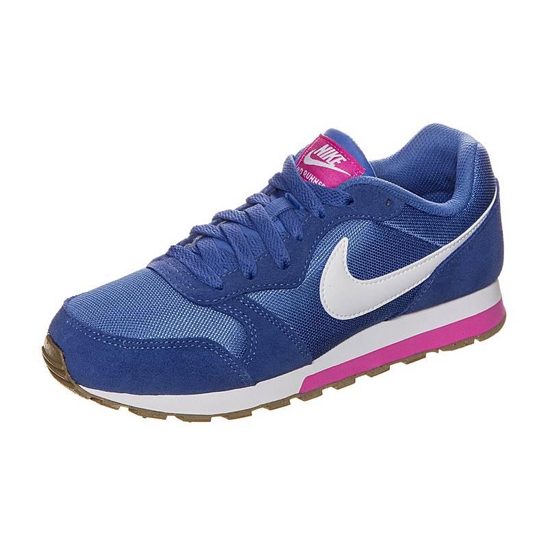NikeMD Runner 2  SneakerKinder  blau / weiß / pink
