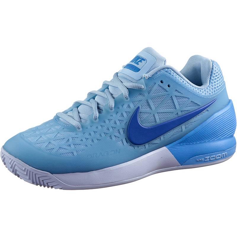 promo code 8f52b 41bf7 NikeZoom Cage EU 2 Clay TennisschuheDamen blau weiß