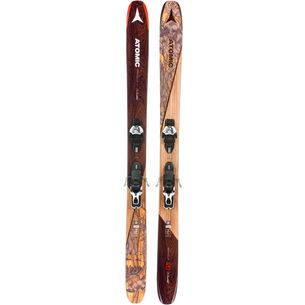 ATOMIC Backland Bent Chetler Freeride Ski black-mint