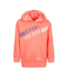 Under Armour ColdGear Favorite Fleece Hoodie Kinder orange