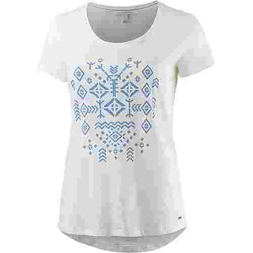 TOM TAILOR T-Shirt Damen offwhite