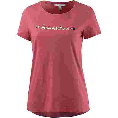 TOM TAILOR T-Shirt Damen slate rose