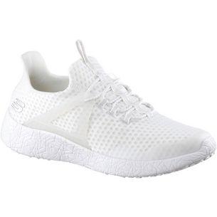 Skechers BURST SHINZ Sneaker Herren White Mesh/Trim
