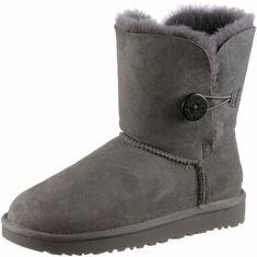 Ugg Bailey Button Stiefel Damen grey