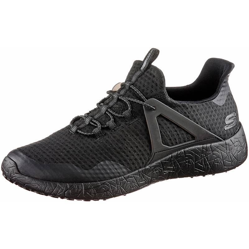 SkechersBURST SHINZ  SneakerHerren  Black Mesh/Trim