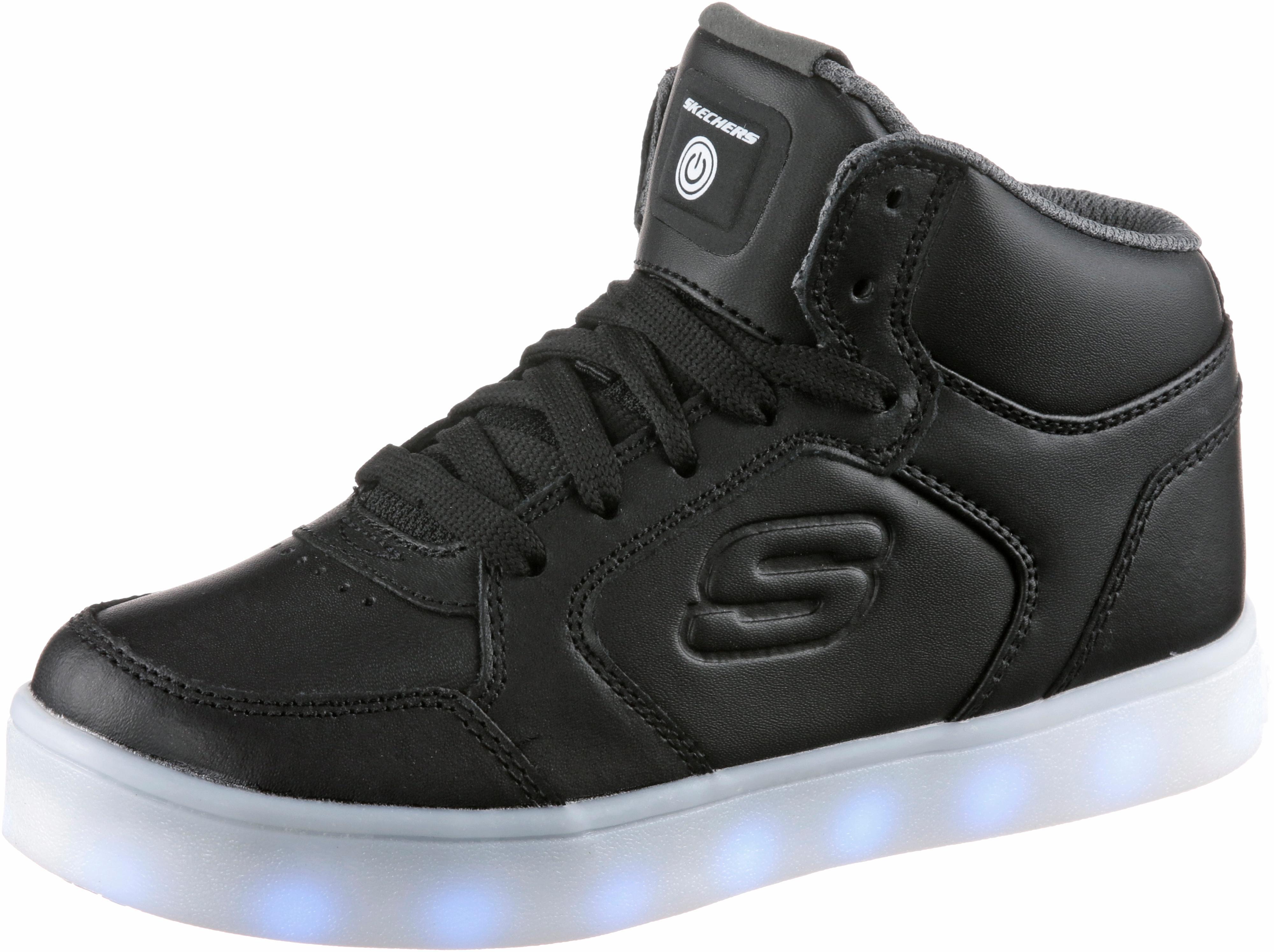 Skechers Energy Lights Sneaker Kinder black im Online Shop von ...