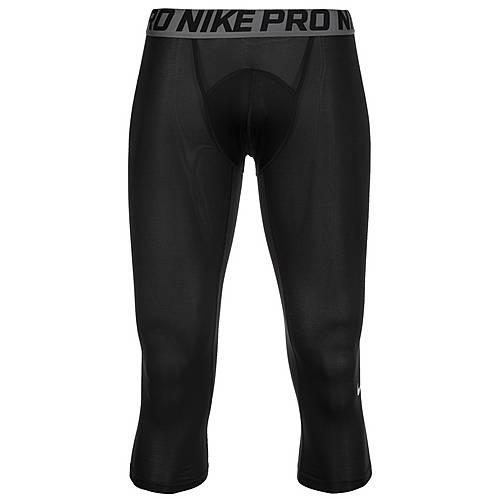 Nike Pro 3/4 Tights Herren schwarz