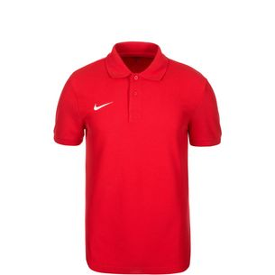 Nike Core Poloshirt Kinder rot / weiß