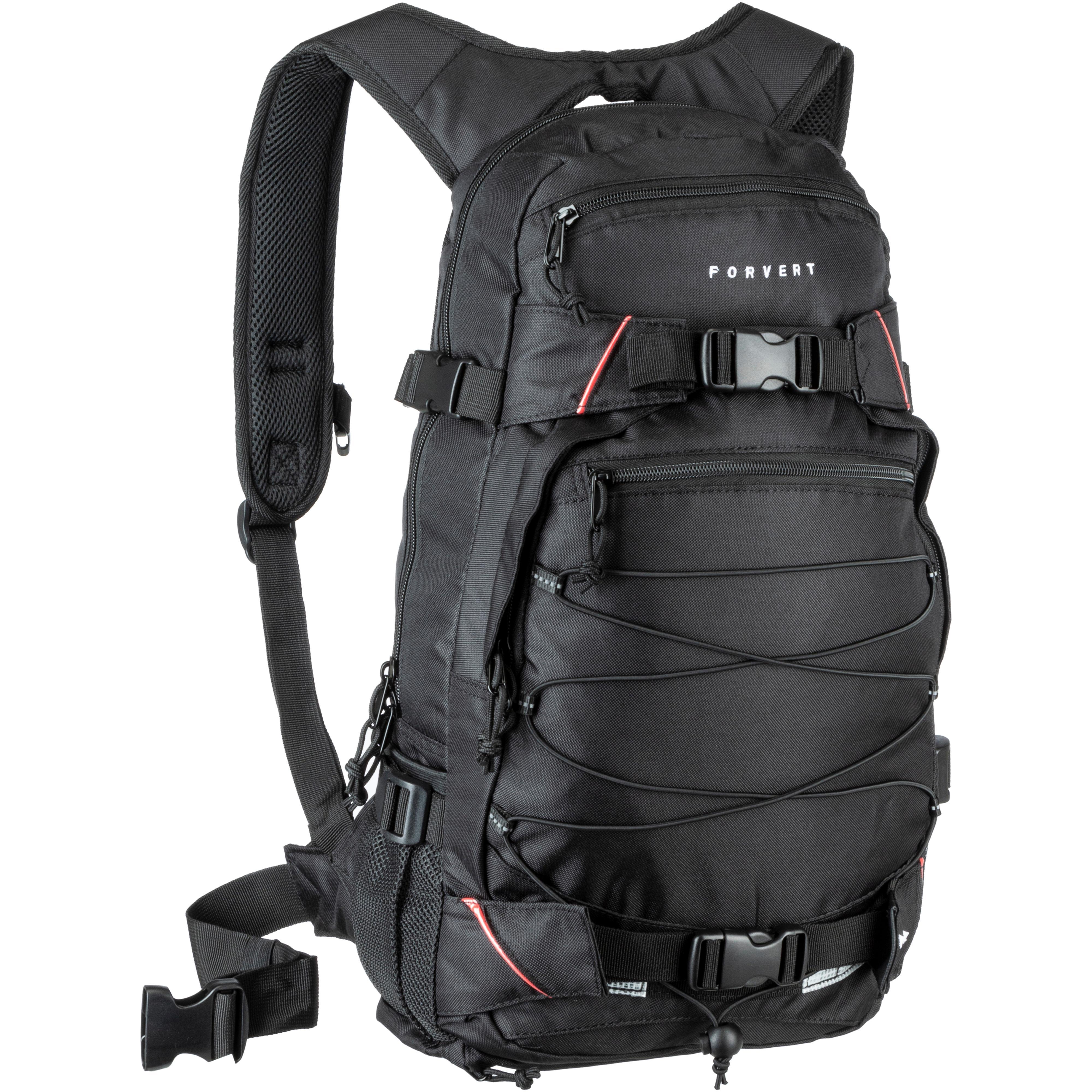 44d802695a657 Forvert Rucksack Louis Daypack black im Online Shop von SportScheck kaufen