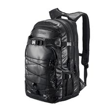 Forvert Reflective Laptop Louis Daypack black