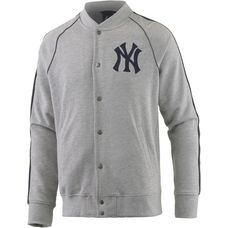 Majestic Athletic New York Yankees Collegejacke Herren graumelange