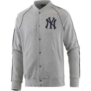Majestic Athletic New York Yankees Collegejacke Herren graumelange