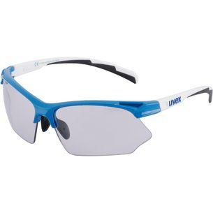Uvex sportstyle 802 v Sonnenbrille blue white/smoke