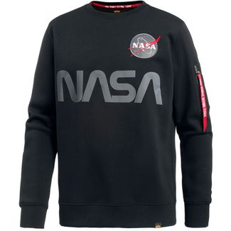 Alpha Industries NASA Sweatshirt Herren black