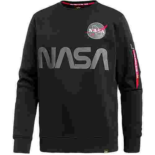 Alpha Industries NASA Sweatshirt Herren black