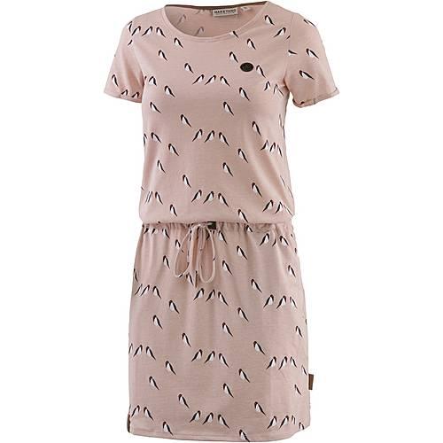 Naketano El Majmuni Doofmann II Jerseykleid Damen dusty pink melange