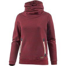 iriedaily Sweatshirt Damen red wine