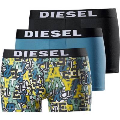 DIESEL Boxer Herren hellblau/dunkelblau/print