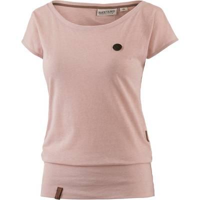 Naketano Wolle IX T-Shirt Damen dusty pink melange