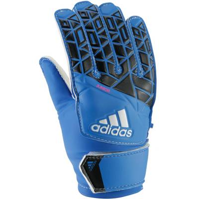 adidas ACE Torwarthandschuhe Kinder blue/cblack/white/sho