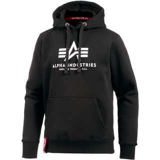Alpha Industries Hoodie Herren black
