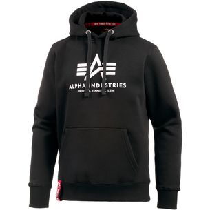 Alpha Industries Hoodie Herren black