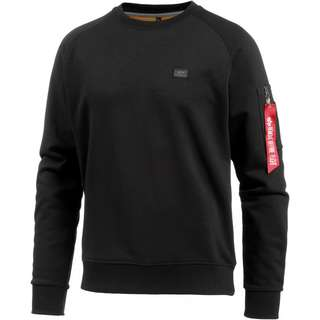 Alpha Industries Sweatshirt Herren black
