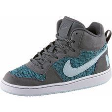 Nike Court Borough Sneaker Kinder dark-grey-glacier-blue